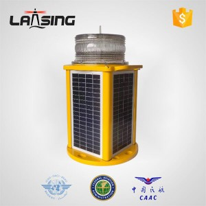 JCL80F Portable Solar Airfield Light with Remote Controller