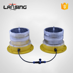 TY10D LED Dual Low intensity Solar Powered Obstruction Light(Type A)