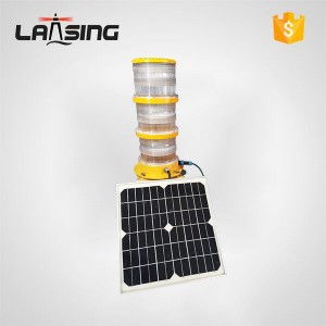 TY4W Solar Powered High Intensity Aviation Obstruction Light