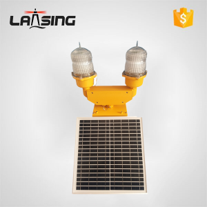 DLT10D Double LED Solar Powered Obstruction Light