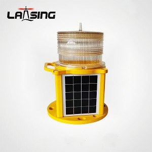 JCL60F Portable Solar Helipad and Taxiway Light with Remote Controller