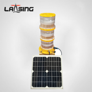 TY4W-B L-856 LED Dual High Intensity Solar Powered  Obstruction Light(Type A)